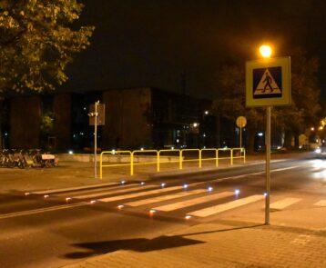 Piotrków Trybunalski: Aktywne przejścia chronią pieszych