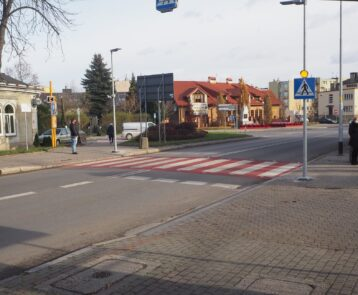 W Jarosławiu powstały dwa nowe przejścia dla pieszych